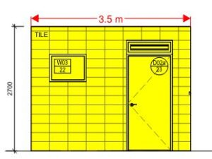 measurement for tiles