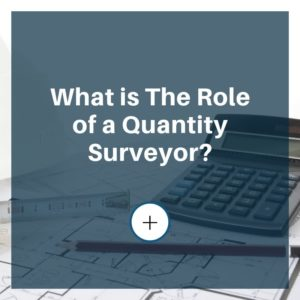 role of a quantity surveyor